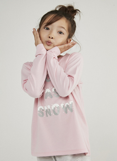 Penti Kız Çocuk Çok Renkli Hot Tech Snow 2'li Pijama Takım PN21YL6320SK Renkli